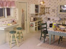 1940 u0027s kitchen by t vanterpool dollhouse kitchen pinterest