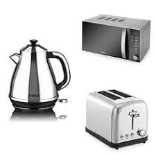 Microwave And Toaster Set Swan Kitchen Appliance Retro Set Green Microwave 2l Green