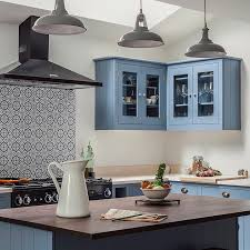 blue kitchen tiles moroccan inspired kitchen british standards shaker style and british