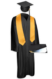 cap and gown san pedro high school