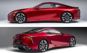 where do they lexus cars 2017 lexus lc500 coupe dissected feature car and driver