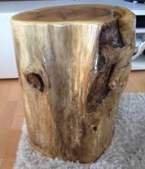 tree trunk end table stump end table tall stump end table tree trunk table for bedside
