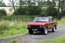old range rover rare 1973 range rover convertible goes to auction
