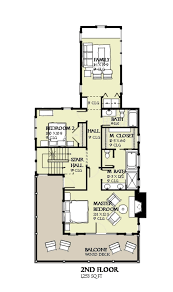 Center Hall Colonial Floor Plans Beach Style House Plan 4 Beds 3 50 Baths 2769 Sq Ft Plan 901 120