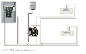 how to wire a photocell with a relay contactor for outsiden with