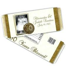 50th wedding anniversary favor ideas wedding anniversary favors