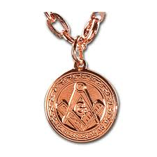 copper jewelry necklace images Square compass copper pendant necklace 3 4 quot diameter jpg