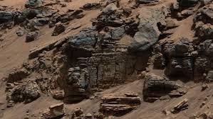 nasa lands car size rover beside martian mountain nasa