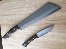 Bark River Kitchen Knives by Fs Bark River Dakkar And Fox River A2 Combo Priced To Sell