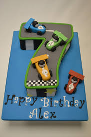 number 7 race track cake celebration cakes cakeology