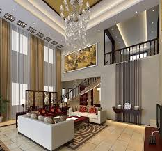 Chinese Living Room Chinese Modern Villa Living Room Interior Design Commercial