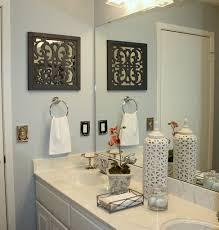 ideas to decorate bathroom walls guest bathroom wall decor ideas mariannemitchell me