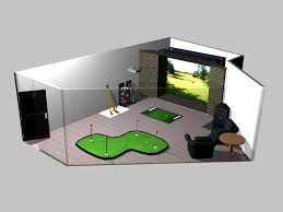room design simulator indoor golf simulator room all reproduction and distribution