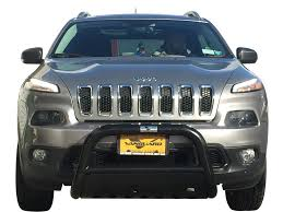 jeep front grill guard 14 16 jeep cherokee front bull bar bumper protector guard b k