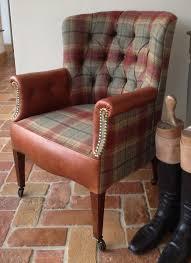 Tartan Armchairs Tartan Leather Chair Http Www Seymourinteriors Co Uk Tartan