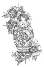 best 25 russian doll tattoo ideas on pinterest doll tattoo