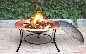 fire pit poker copper fire pit with guard u0026 poker for charcoal u0026 logs 30