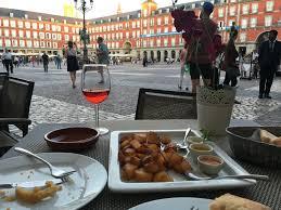 how to eat in madrid macado de san miguel and plaza mayor hello