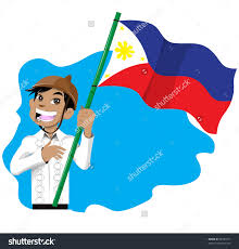 Filipino Flag Colors Flag Clipart Philippine Flag Pencil And In Color Flag Clipart