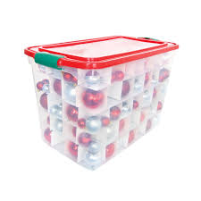 storage containers for christmas ornaments home decorating