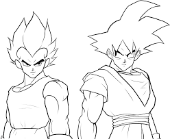 coloring pictures of goku super saiyan 4 coloring pages ideas