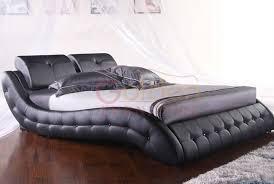 Italian Leather Bedroom Sets Modern Italian Leather Bedroom Set Faux Leather Bed View Faux