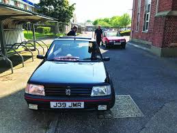 peugeot 205 gti our fleet peugeot 205 gti workshop magazine