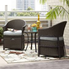 3 Piece Patio Furniture Set - rst outdoor cantina 8 piece sofa with club chair and coral coast