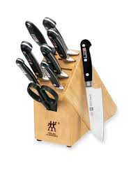 kitchen knives block set zwilling j a henckels pro
