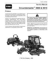 08159sl pdf groundsmaster 5900 5910 jan 2009 new by negimachi