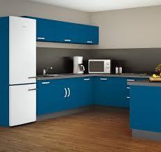 simulation plan cuisine esprit simulation avec la teinte bleu tajine façades