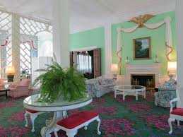 Dorothy Draper Style Journey The Greenbrier And Baseball