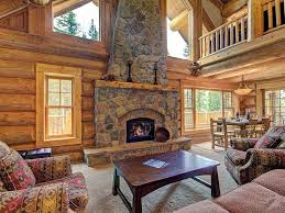 Beautiful Log Home Interiors by Beautiful Log Cabin Private Tub Woode Vrbo