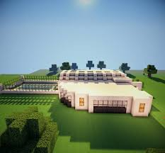 Modern House Free Download Modern House By Kenyukicreations Map For Minecraft File