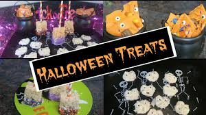easy halloween treats no baking required youtube