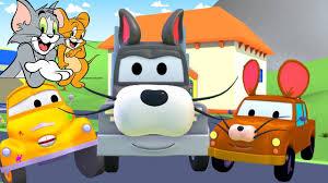 tom the tow truck u0027s paint shop tom u0026 jerry truck cartoons for