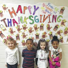 happy thanksgiving from foster park elementary school union
