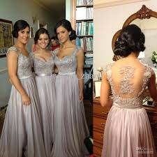bridesmaid gowns luxury bridesmaid dresses beaded embroidery sheer back cap