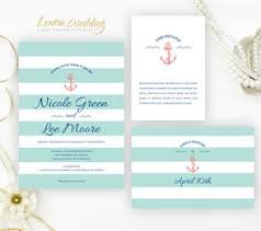 cruise wedding invitations green wedding invitations lemonwedding