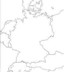 Blank Outline Map Of Asia Printable by Download Map Of Countries Surrounding Germany Major Tourist