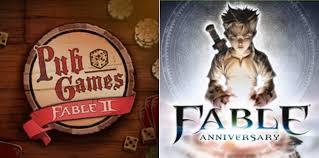 fable 2 pub games fable anniversary e fable ii pub games diventano