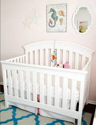stacy charlie pink and turquoise mermaid nursery