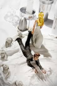 figurine mariage mixte figurines mariage de mariés rigolos mixte noirs