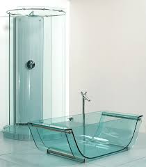 glass shower room with sliding glass door plus silver steel frame