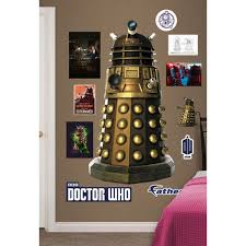 doctor who fathead dalek wall decal bbc shop
