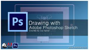 drawing with photoshop sketch free download tutorial