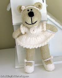 flower girl teddy flower girl gift flower girl custom knit