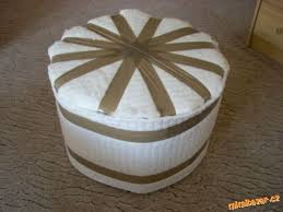 Plastic Ottoman How To Diy Simple Ottoman From Plastic Bottles