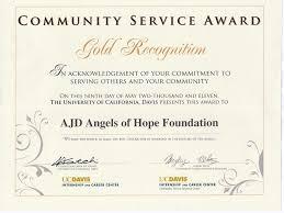 Prize Certificate Template Community Service Award Template Best Community Service