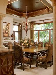 Mediterranean Dining Room Furniture Luxurious Touch For Mediterranean Styled Home Designoursign